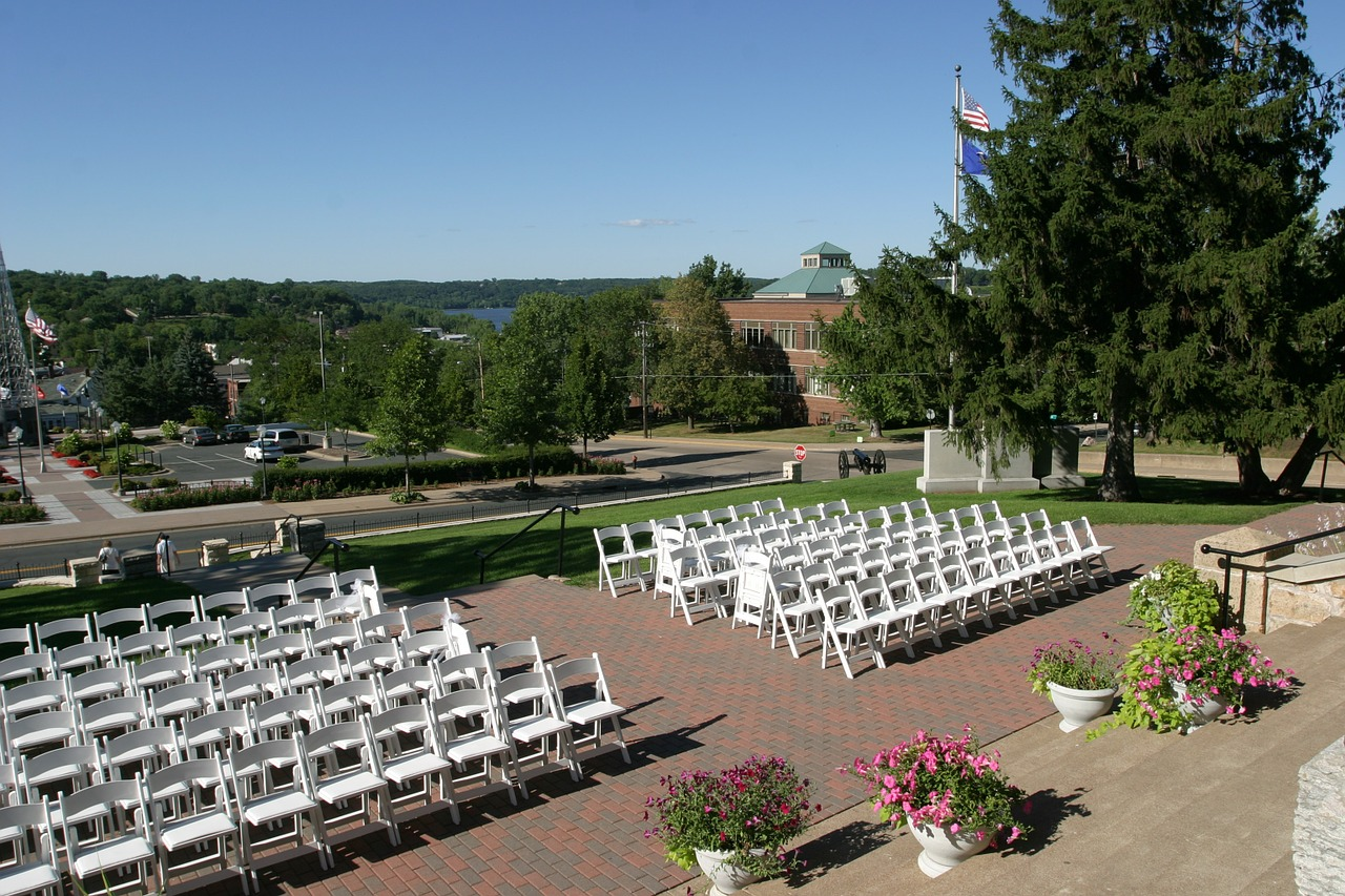 wedding, chairs, event